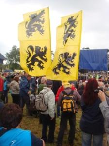 De massa vond de weg naar Ijzerwake 2012