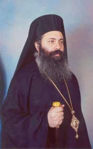 Metropolitan Paul Yazigi van de 'Greek Orthodox Archdiocese of Aleppo'.