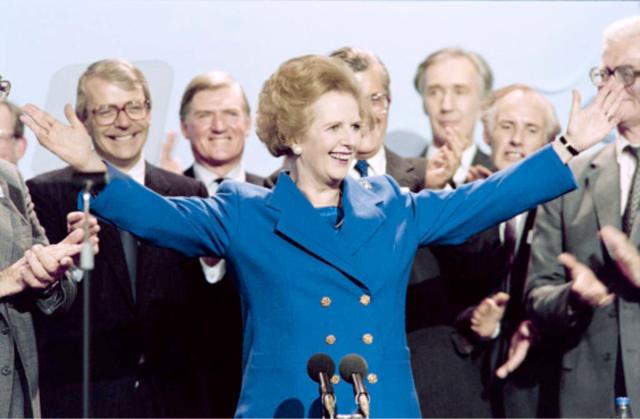 """""""I want my money back!"""" Met de UK Rebate haalde Thatcher haar slag binnen."""