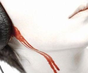 hoofdtelefoon bloed