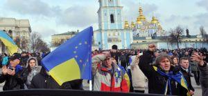 Demonstraties Oekraine op Majden
