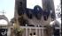 De Assyrisch katholieke kathedraal ging in vlammen op.