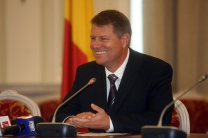 Klaus Johannis - president Roemenië