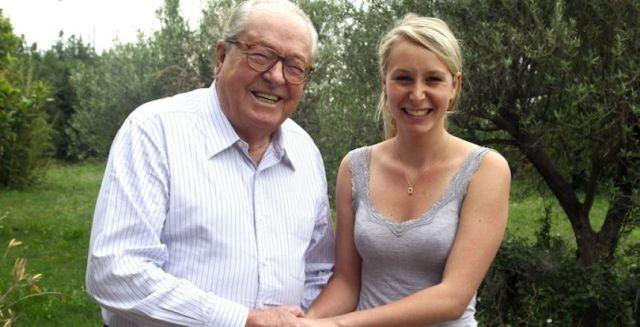 Jean-Marie Le Pen en Marion Maréchal-Le Pen zetten Valls en Schulz op hun plaats.