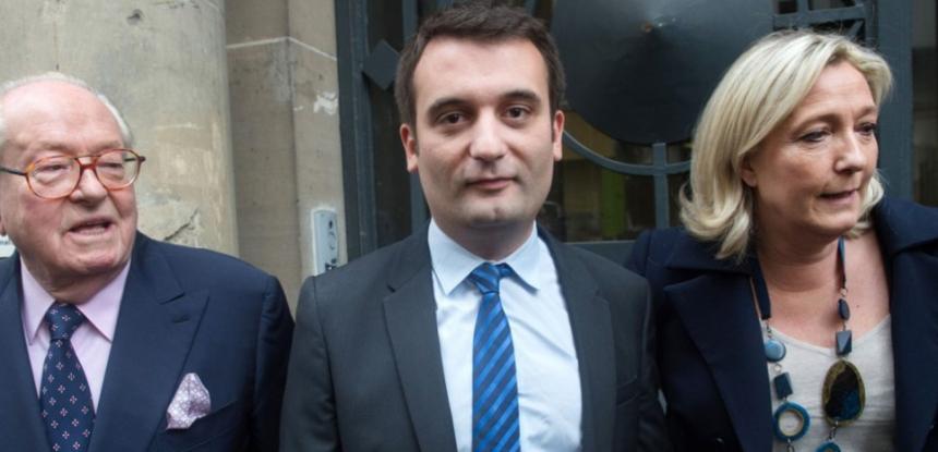 Zorgt Florian Philippot voor de tweespalt binnen de familie Le Pen en het Front National?