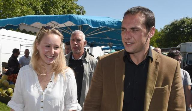 Marion Le Pen en Joris Hébrard: klinkende verkiezingsoverwinning!!