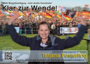 PEGIDA OB-wahl Festerling