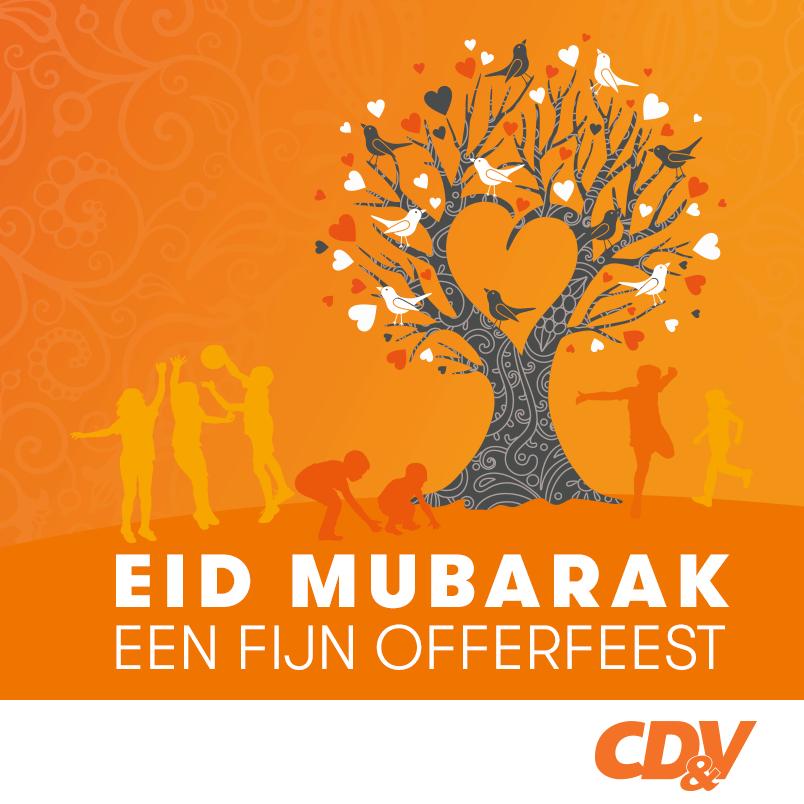 CD&V wenst moslims 'fijn Offerfeest' in Arabisch – REACT
