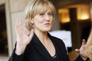 """Nadine Morano heeft het verkorven bij haar partijgenoten Sarkozy en Co, nadat ze de wijze woorden van Charles de Gaulle herhaalde: """"La France est un pays de race blanche."""""""