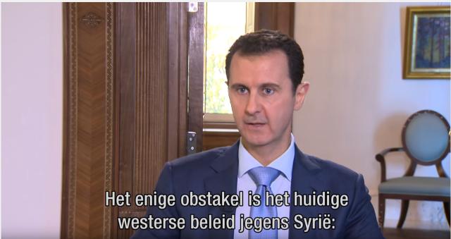 Afbeeldingsresultaat voor Assad : Terrorisme in het westen