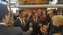 door partijvoorzitter Frank Franz en advocaat Peter Richter