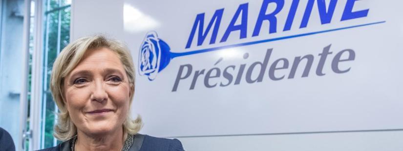 "Angst voor Le Pen is groot, burgemeester Ay stuurt bewoners officiële brief: ""StemMacron!"""