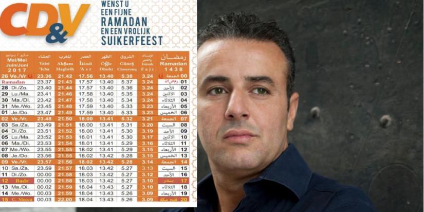 Uitgever CD&V ramadankalender in 2014 uit partij gezet wegens antisemitisme opTwitter