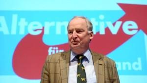 partijvoorzitter Frauke Petri, die zich als gematigd-conservatief profileert?