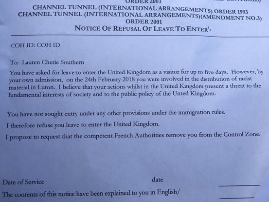 Lauren Southern ondervraagd door het VK op basis van anti-terrorismewet: persona non grata! VB nodigde haar uit met persmoment inEU-parlement