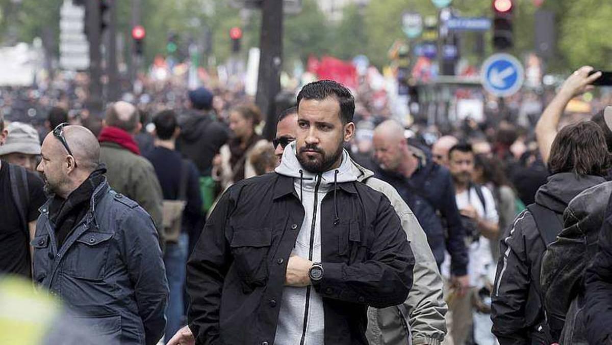 Macron en Co wilden gewelddadig en illegaal incident met veiligheidsagent in de doofpot, nu toch arrestaties