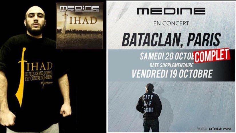 Geen Algerijnse islamrapper in de Bataclan, Génération Identitaire en andere patriotten halen hun slagthuis