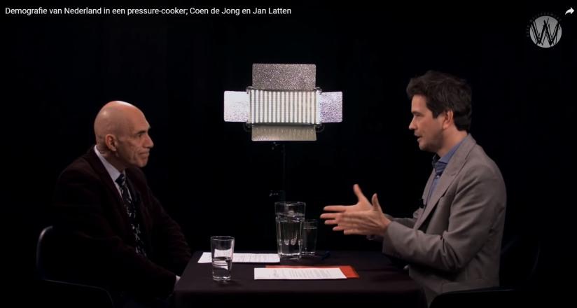 [VIDEO] Een gesprek over de demografie van Nederland tussen Coen de Jong en JanLatten