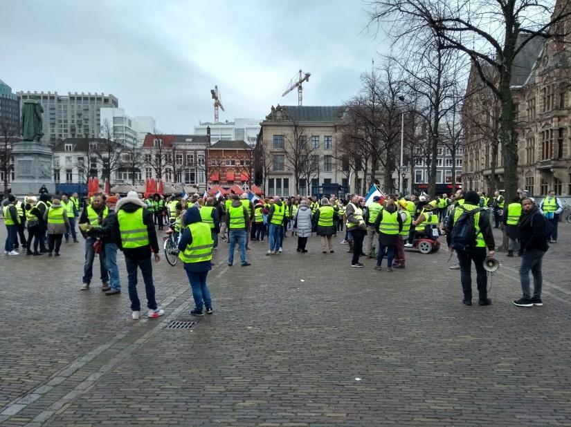 Wederom doorheen Nederland #gelehesjes demonstraties#ronde8