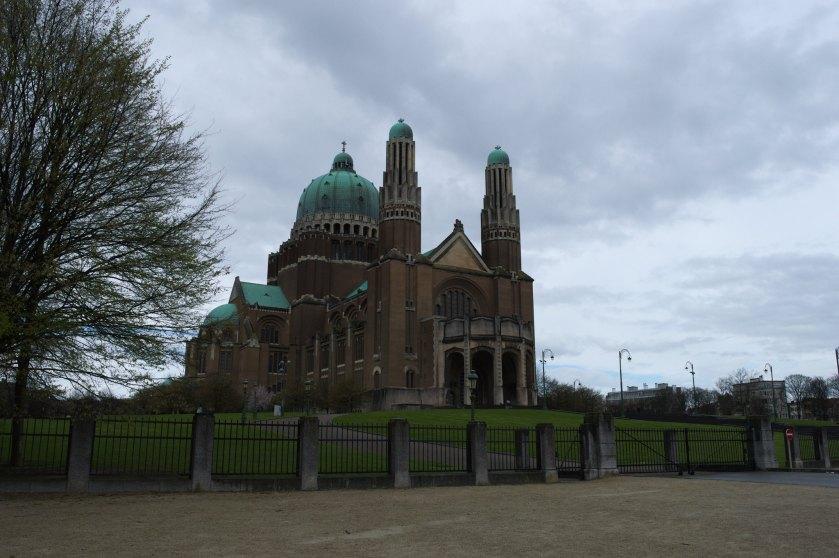 Moslims bedreigen gelovigen in Basiliek van Koekelberg