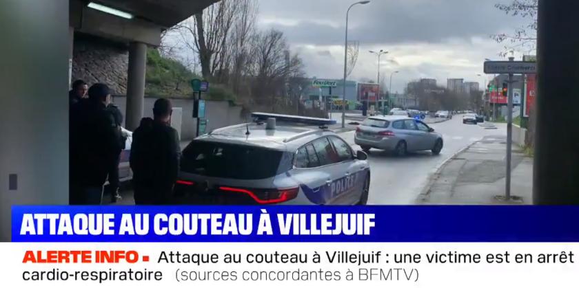 Villejuif in Frankrijk: Man steekt willekeurig om zich heen; 1 dode, 2 ernstig gewonden