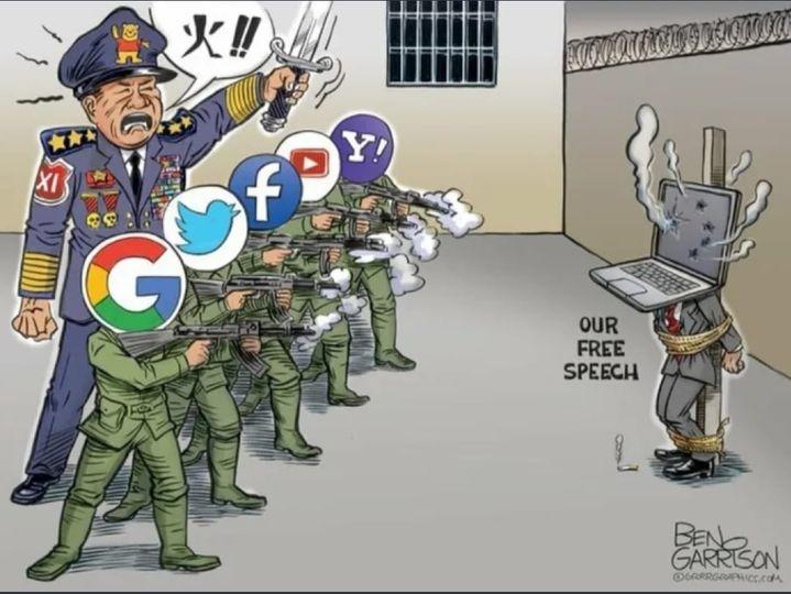 Linkse censuurgolf tegen rechts: 'Parler' tijdelijk offline